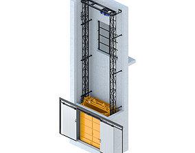 Elevator Module-1000 hydraulic 3D