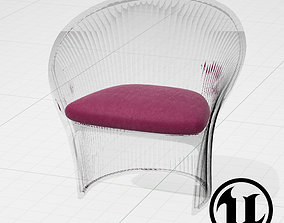 Magis Flower Chair UE4 3D model low-poly