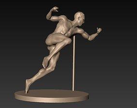 Stylized Action Figure 08 3D model