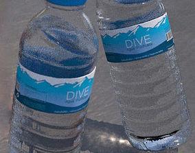 3D model beverage Real Water Bottle 25 Cl