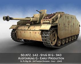 StuG III - Ausf G - 943 - Early Production 3D model