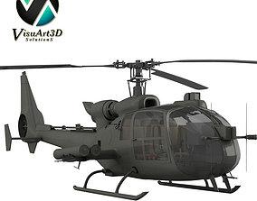 3D model Helicopter Gazelle Warrior