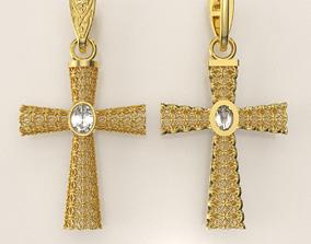 jewelry crisma Cross 3D print model
