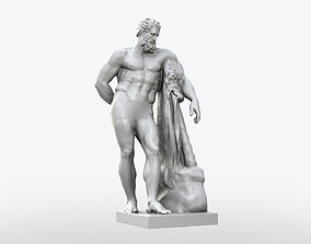 Farnese Hercules Statue 3D printable model