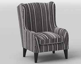 Ramsebo Wing Chair by IKEA 3D model