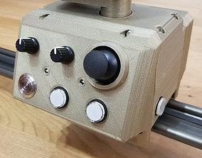 3D printable model professional camera slider