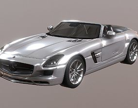 Mercedes-Benz SLS Roadster 3D model VR / AR ready