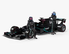 Mercedes AMG F1 W11 EQ Power 2020 3D model