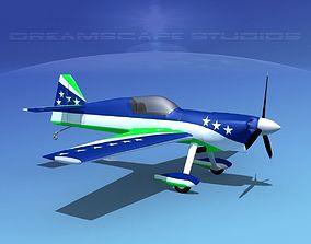 dae MXS Aerobatic Sport 3D rigged