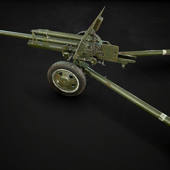 ZiS 3 soviet anti-tank gun