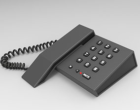 Caterpillar Landline Phone 3D model