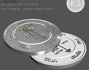 4th Seal of Jupiter 3D printable model