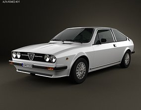 Alfa Romeo Sprint 1976 3D
