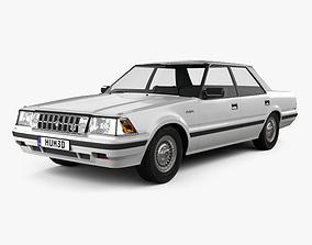 3D Toyota Crown Royal Saloon 1983