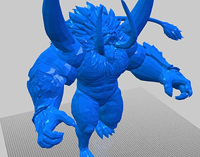 BOSSPOSES -GANON Final bout 3D print model
