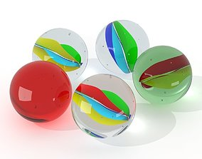 Marbles 3D round
