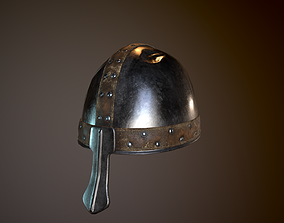 3D asset Medieval Helmet