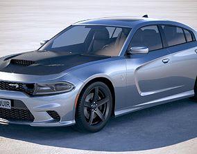 3D Dodge Charger SRT Hellcat 2019