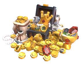 3D model Loot Set - Smashy Craft Series