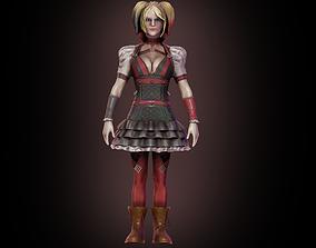 3D Harley Quinn girl