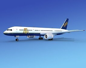 3D model Boeing 757-200 ATA Airlines