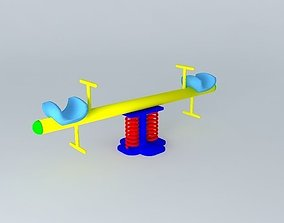 SeeSaw Single Seater 3D