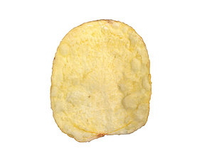 Photorealistic Potato Chip 3D Scan