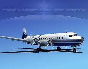 3D Douglas DC-7C Corporate 5