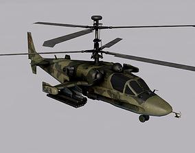 Kamov Ka-52 3D model