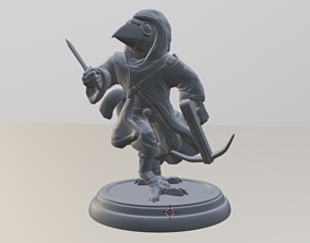 3D printable model Hooded Bird