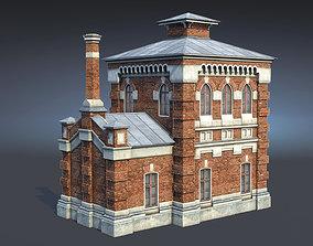 3D model Oil Pumpimg House