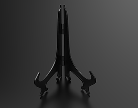 rigged Plate Stand 3D print Model
