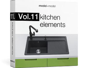 Vol11 Kitchen elements 3D