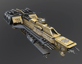 3D model Space Force 1 Carrier