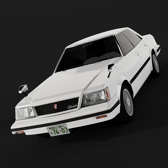Toyota Mark II GX61 Hardtop