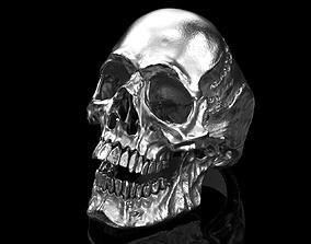 3D model Big Skull Ring - Classic - 2