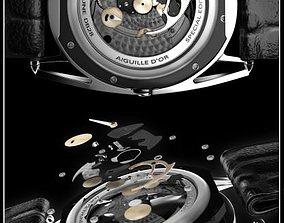 Watch mechanism 3D model bdb-28