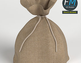 3D model Jute sack