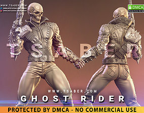 3D print model Ghost Rider Statue - Marvel Collectibles