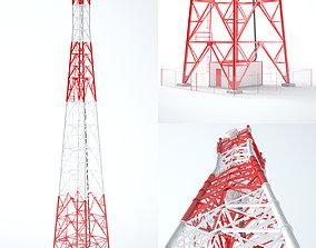 Communication Tower 01 am 3D