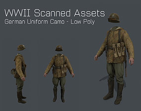 German Uniform Camo - WW2 Scanned Asset Pack realtime