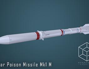 3D Nuclear Poison Missile Mk1 M