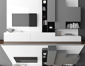 Tv stand 3D asset realtime furniture