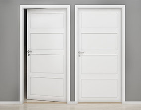 Interior door 02 3D