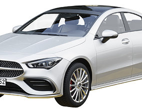 3D Mercedes-Benz CLA Coupe 250 2020
