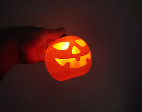 Pumpkin Lantern 02 3D printable model
