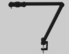 3D asset Professional Microphone Boom - Adjustable Detail