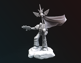 Space Marine Warhammer 40K for 3D printing