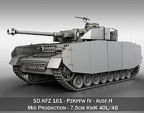 SD KFZ 161 PzKpfw IV - Panzer 4 - Ausf H 3D model