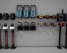 Industrial control panels 3D model